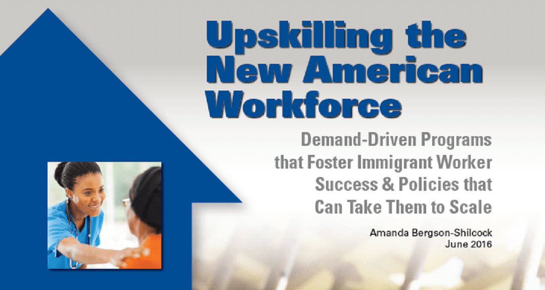 Upskilling the New American Workforce