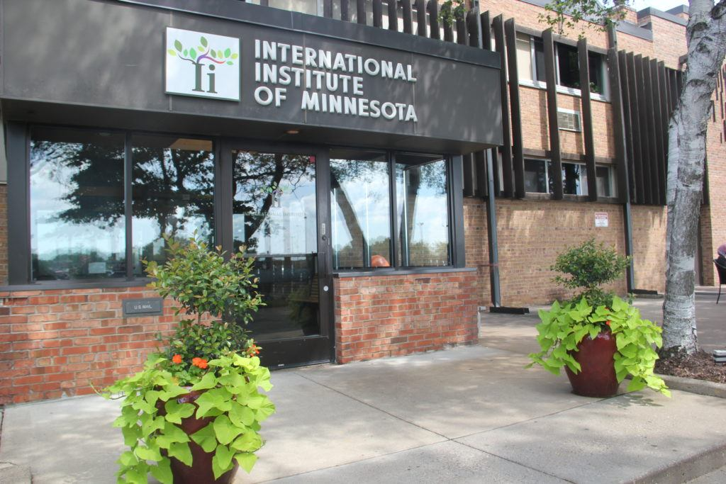 Entrance to the International Institute of Minnesota