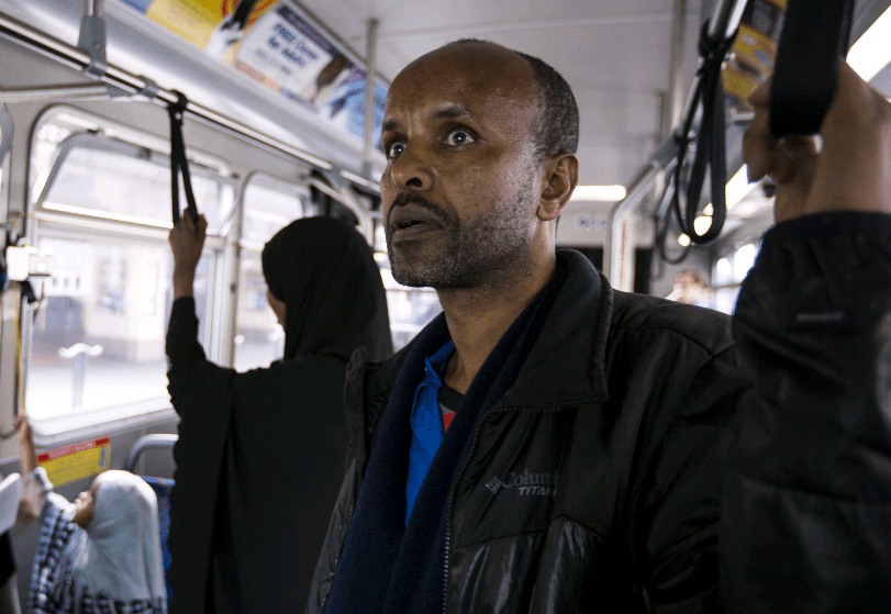 Somali Man on Bus