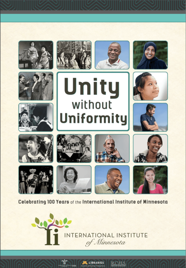 Unity without Uniformity exhibit poster