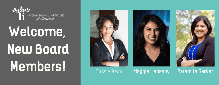 Board Members: Cassie Bean, Maggie Habashy and Paramita Sarkar