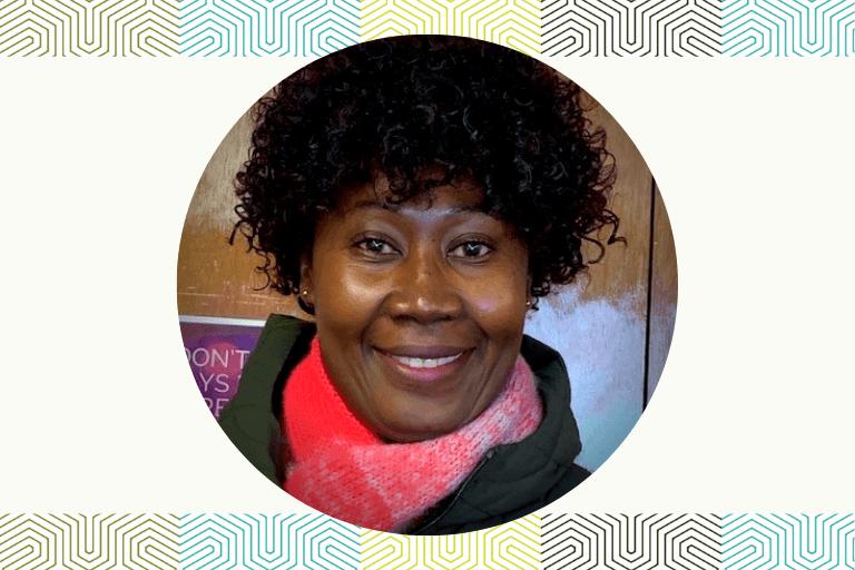 Rose, graduate of dietary aide training program at the International Institute of Minnesota