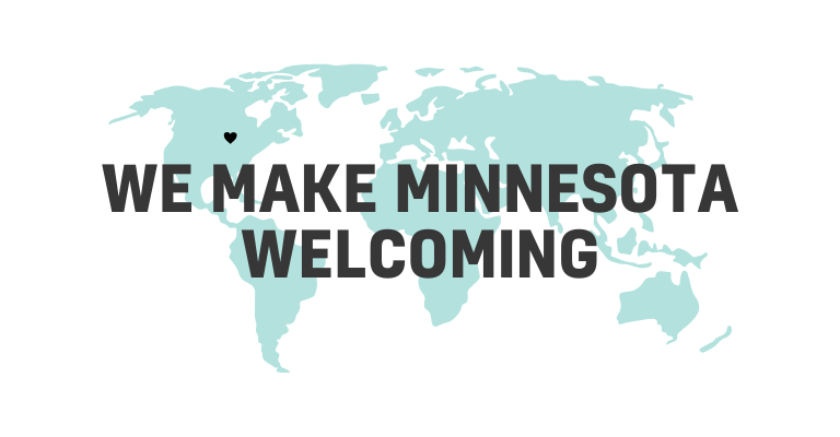 We make Minnesota Welcoming - International Institute of Minnesota - world map