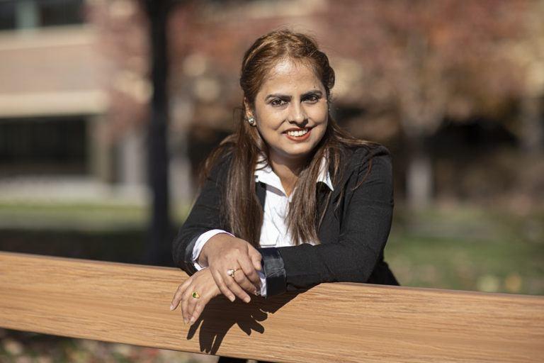 Nikita, College Readiness Academy student at International Institute of Minnesota